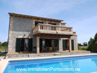 Immobilien Finca Porreres, Mallorca - Finca mit Pool in ruhiger Lage