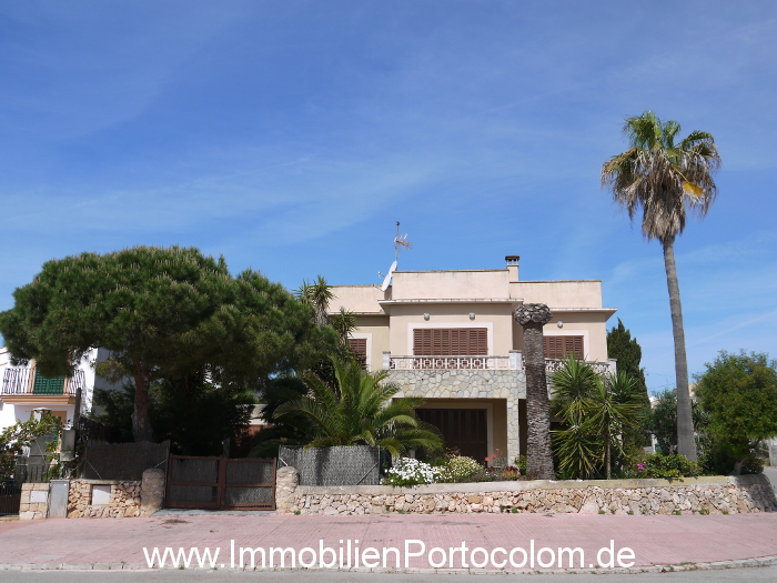 Haus Portocolom Frontansicht 16415