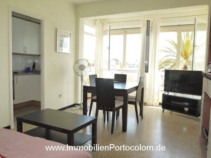 Apartment Portocolom first habor line livingroom 10616