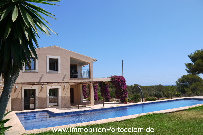 Finca Portocolom house pool 16719