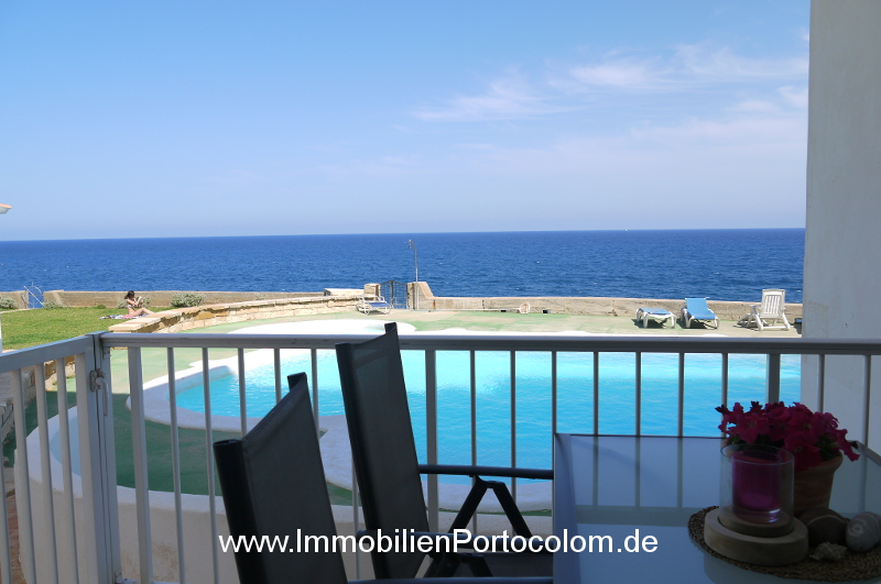 Groundfloor apartment 1. line Portocolom terrace 3417