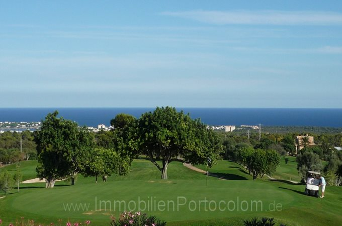 Immobilien Wohnung am Vall d'Or Golf  - Appartement am Golfplatz von Porto Colom
