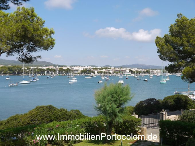 Immobilien Appartement Garau Porto Colom - Wohnung in 1. Linie von Porto Colom