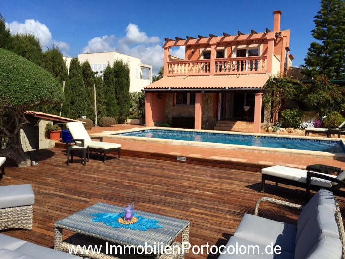 Immobilien - Chalet in Porto Colom