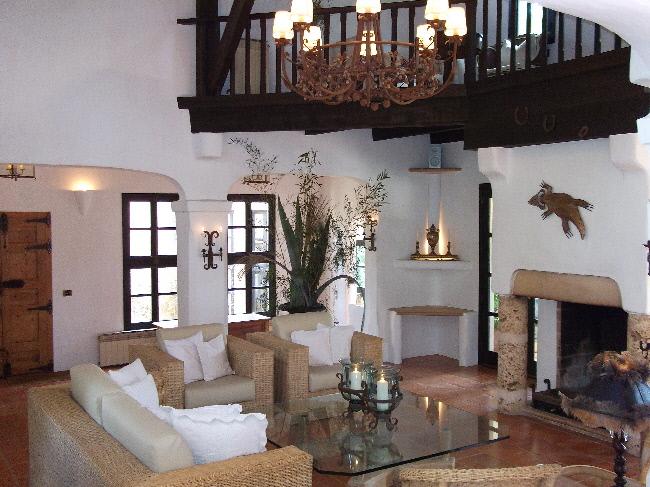 Finca Mallorca Wohnzimmer 1007